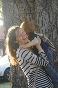 Die lustige Mama, die die Dinge mit Humor löst: Meistens bin ich es, aber ich will es noch viel öfter sein.