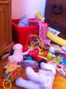 Chaos im Knderzimmer