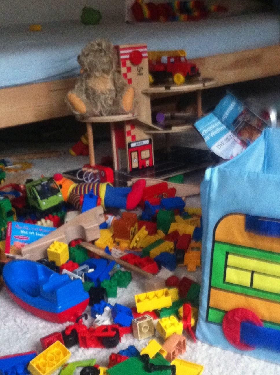 Darf eine mama auch mal sagen ich kann nicht mehr ganz for Kinderzimmer unordnung