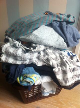 Wäschekorb Haushalt Chaos Mamablog