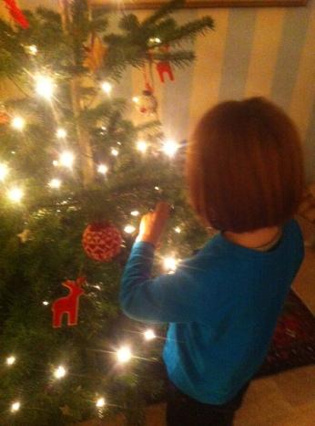 Tannenbaum schmücken, Weihnachtsbaum, Mamablog