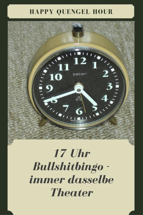 Bullshitbingo: Jeden Abend um 17 Uhr drehen die Kinder durch - Quengeln und Streit am späten NAchmittag kennen bestimmt alle Eltern!