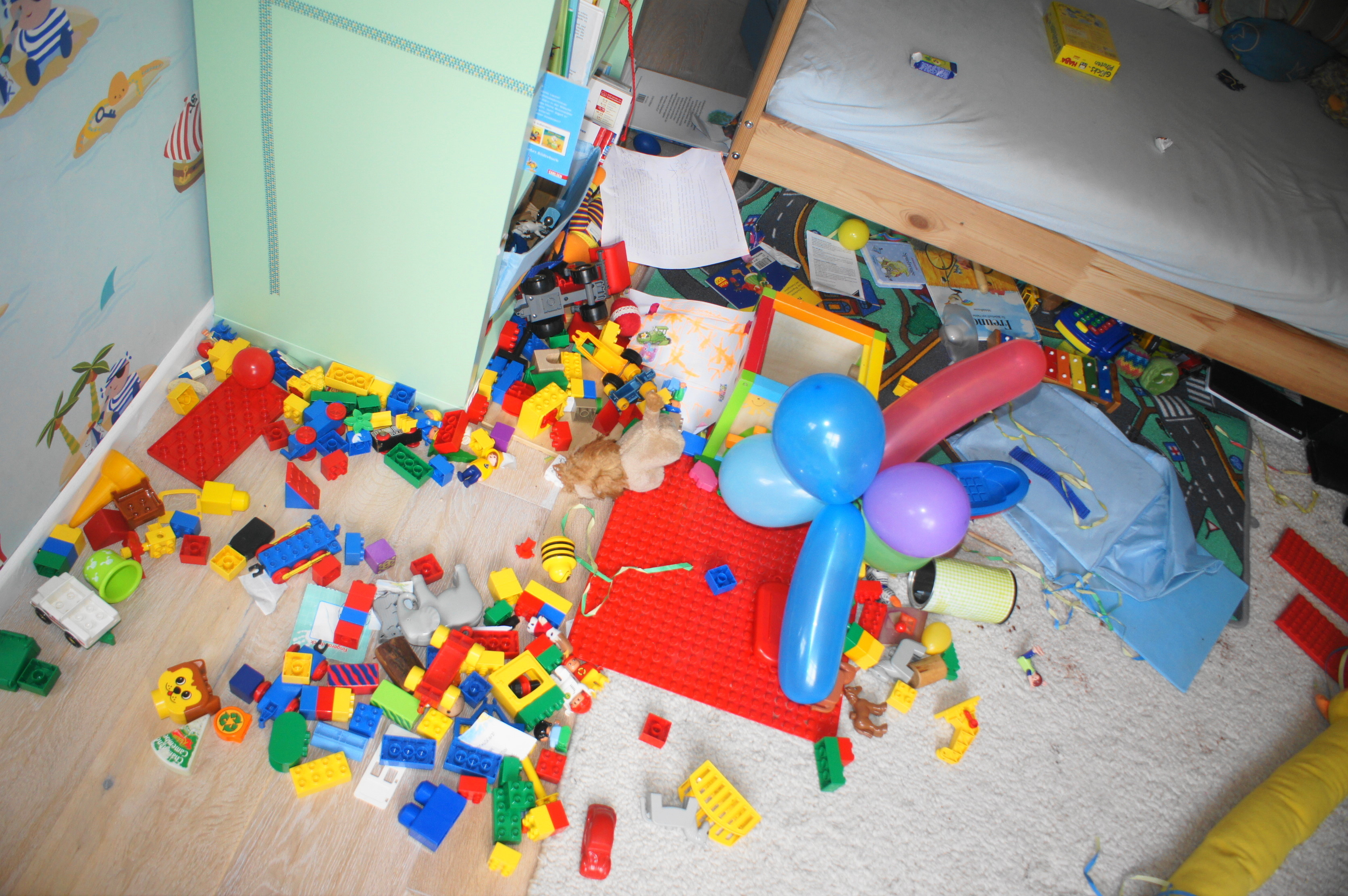Chaos im Kinderzimmer, Topthema