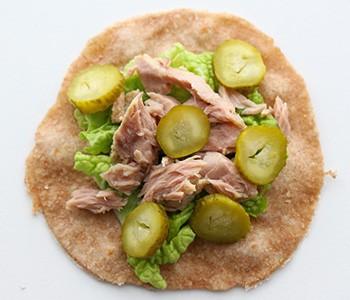 Wrap-mit-Thunfisch