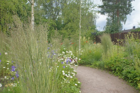 Astrid Lindgrens Näs, Gärten