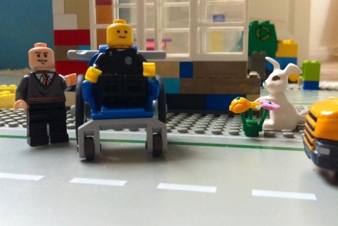 Lego Jeden Tag eine gute Tat
