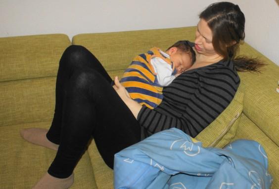 Clusterfeeding, Dauerstillen