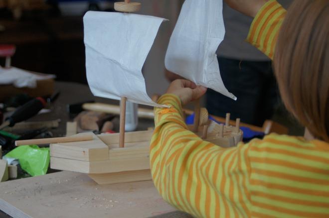 Werkkiste Holzarbeiten mit Kindern