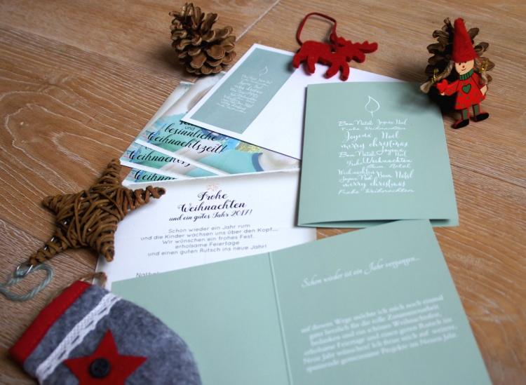 Weihnachtskarten Sendmoments