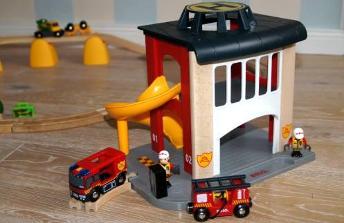 Brio Feuerwehrstation