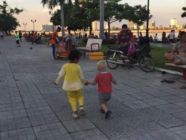 Kambodscha mit Kind
