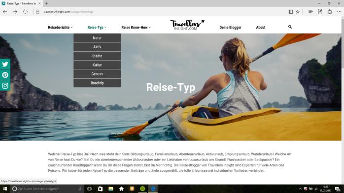 Inspirationen für die Reise mit dem Fernwehblog Travellers Insight.