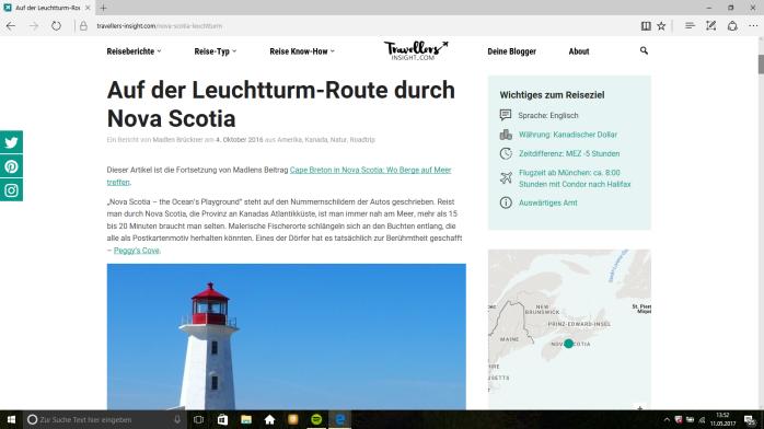 Reiseblog Travellers Insight - Inspirationen für die Reisen
