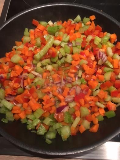 Rezept für vegetarische Gemüsebolognese: Lecker und fruchtig!