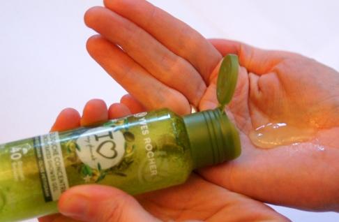 Produkttest - grüne Kosmetik und Naturkosmetik. Das Yves Rocher I love my Planet Duschgel-Konzentrat: Umweltfreundlich, biologisch abbaubaur und ergiebig.