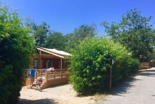 Urlaub an der cote D'Azur in einem Mobilheim von Eurocamp.