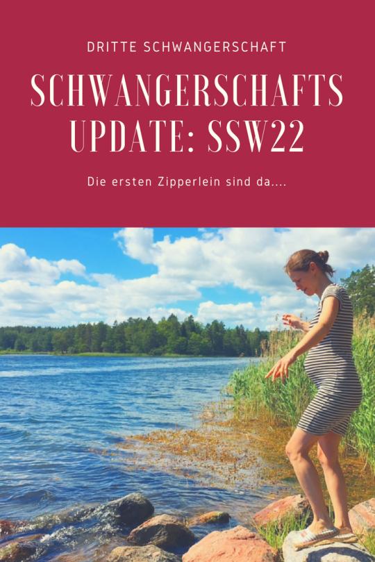 Dritte Schwangerschaft: Schwangerschaftsupdate SSW 22. Beschwerden in der 23 Woche und wie es bei der Feindiagnostik war,