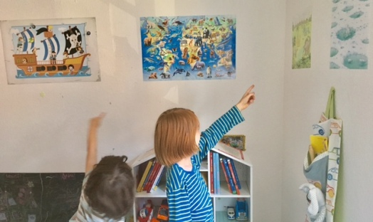 Kinderzimmer einrichten: Mit Postern von Posterlounge die Wände dekorieren