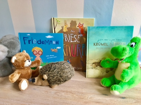 Bilderbücher zum Vorlesen zum Thema Mut: Buchtipp für drei Kinderbücher für Kinder ab 3 Jahren und Kindergartenkindern