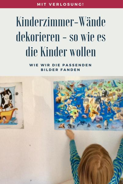 Werbung und Verlosung: Wie wir die passenden Bilder fürs Kinderzimmer bei Posterlounge fanden und wieso ich der Meinung bin, dass die Kinder ihr Kinderzimmer dekorieren sollten und nicht die Eltern. #kinderzimmer #wohnen