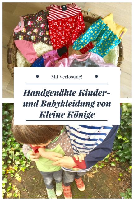 Verlosung und Shopvorstellung: Handgenähte Kindermode und Babykleidung von Kleine Könige #baby #kindermode #verlosung