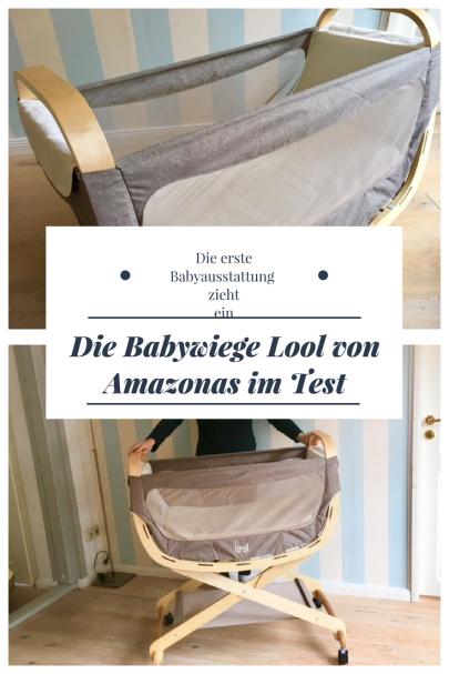 Werbung und Produkttest: Wir haben die BAbywiege Lool von Amazonas getestet. #baby #schwanger #familie