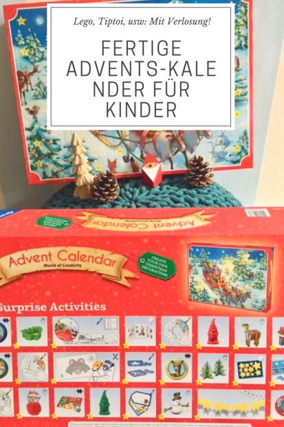 Die besten Adventskalender für Kinder: Fertige Adventskalender zb von Lego, Tiptpoi, Ravensburger, Pixi usw #Weihnachten #Adventskalender