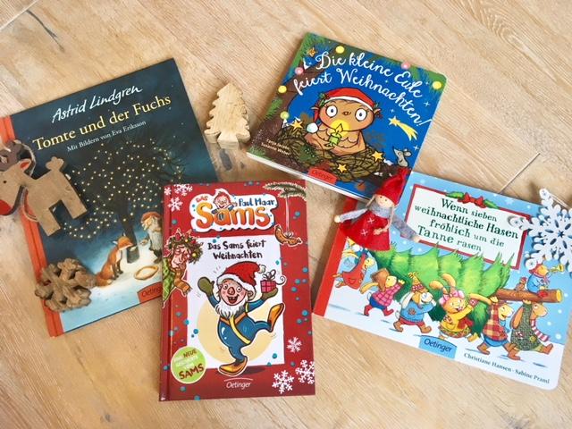 Die schönsten Weihnachtsbücher zum Vorlesen für kleinere und größere Kinder