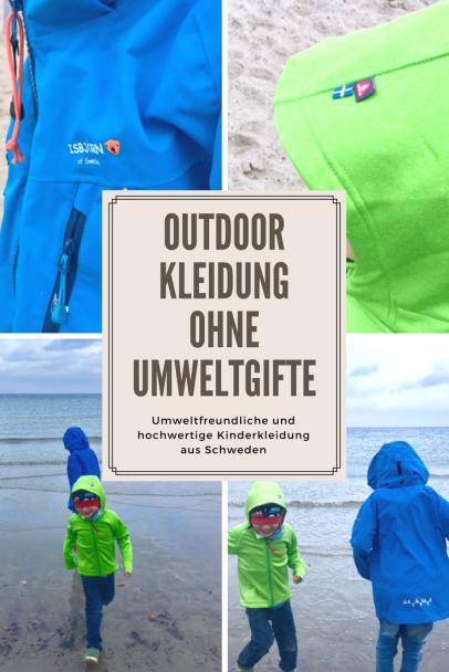 Funktionskleidung für Kinder ohne Umweltgifte: Die schwedische Kindermode Marke Isbjörn im Test. Umweltfreundliche Outdoorkleidung #kindermode #kinder