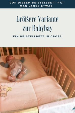 Alternntive zu Babybay und herkömmlichen Beistellbetten für Babys gefunden: wie ich bei tausendkind fündig wurde - WEerbung - #baby #kinderzimmer