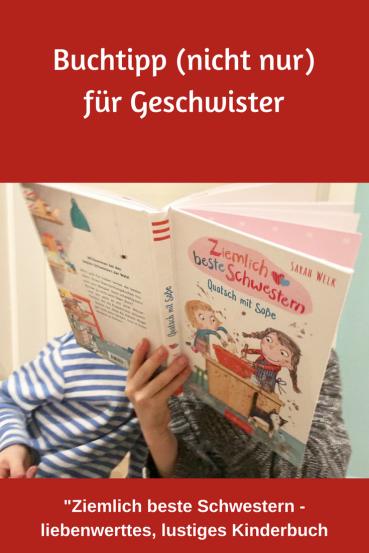 Kinderbuch über Geschwisterliebe: Buchtipp zum Vorlesen und Selberlesen für Erstleser - ein