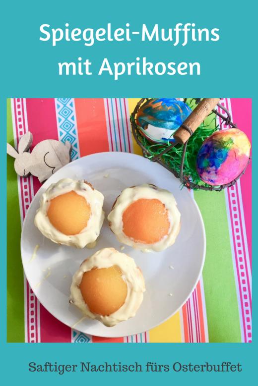 Spiegelei-Muffins mit Aprikosen