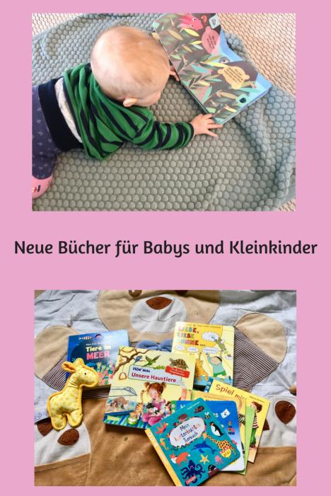 Buchtipps für Babys und Kleinkinder- neue Babybücher und Pappbilderbücher Kinderbücher zum Vorlesen und Reisen